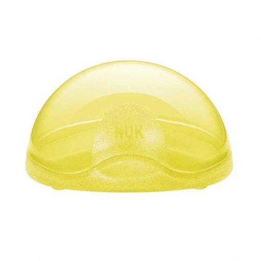 box protector chupete amarillo NUK