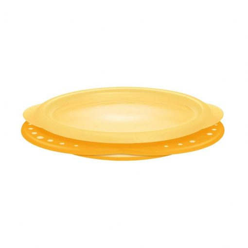 Plato grande amarillo. Nuk