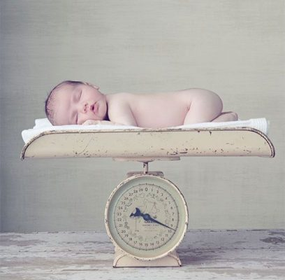 adivina peso del bebé idea babyshower