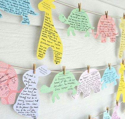 mensajes para bebé babyshower