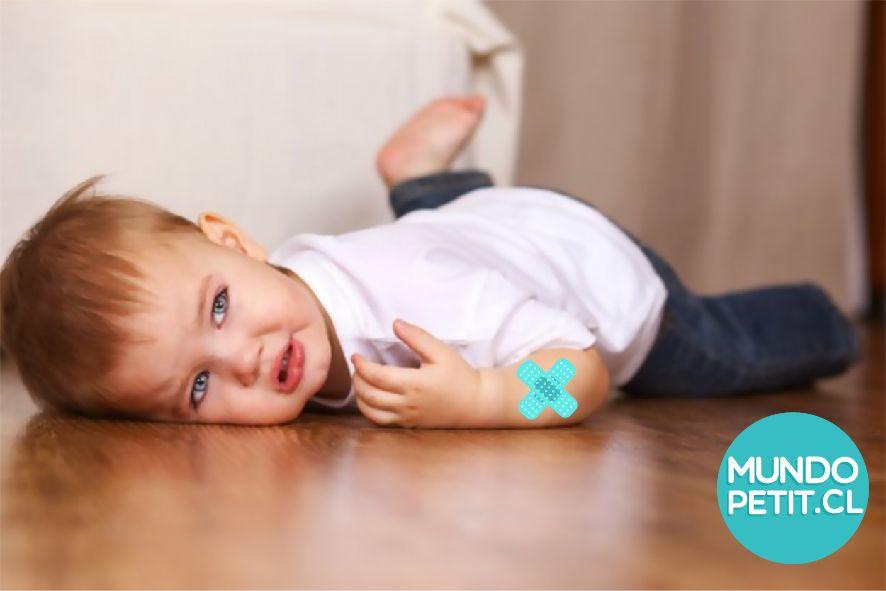 Caidas y golpes en los bebes