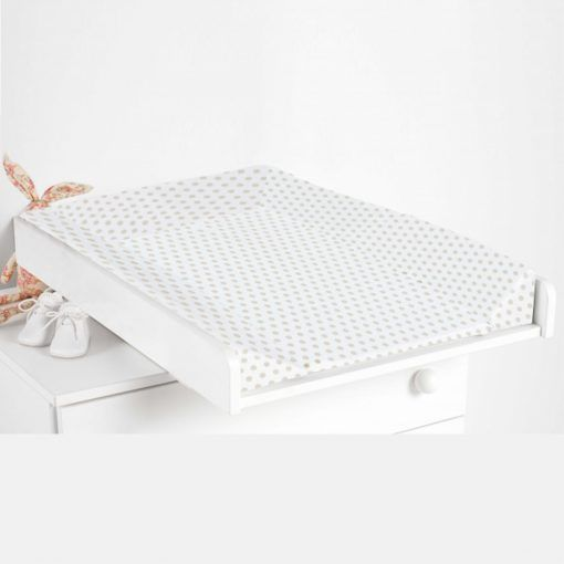 Mudador cómoda blanco micuna