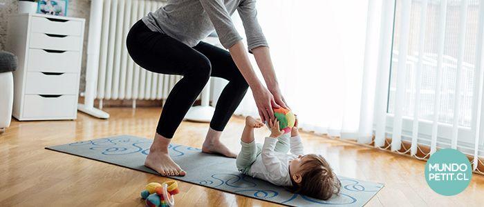 Recuperando la figura, ejercicio post parto
