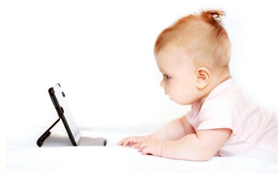Efectos tecnología en bebés