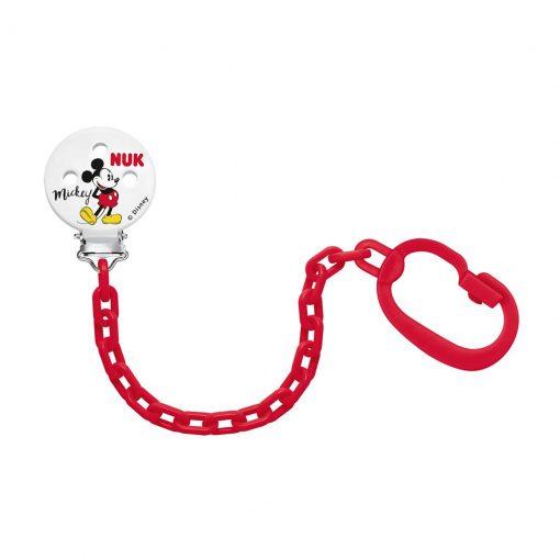 Clip cadena sujeta chupete Disney NUK