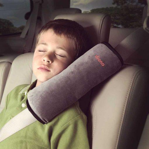 almohada para cinturón de seguridad para niños