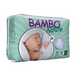Pañales ecológicos recién nacido. Bambo Nature