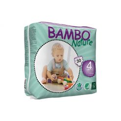 Pañales Ecológicos Bambo Nature Maxi 4