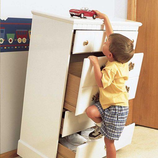 Protector anti-caída de muebles (8 unidades). Mommy´s Helper