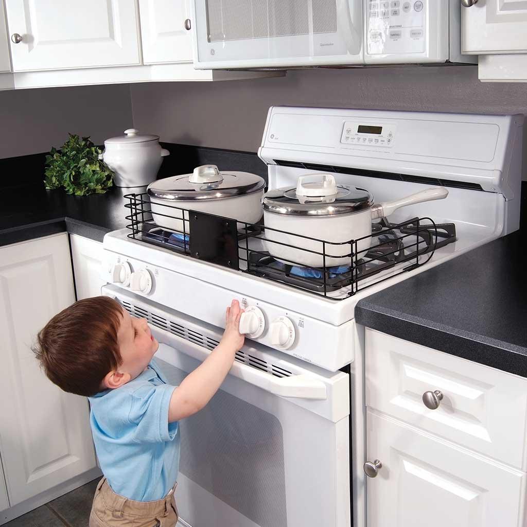 Reja protectora de cocina kidco - Protector antisalpicaduras cocina ...