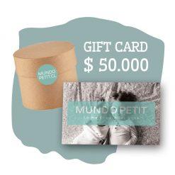 Gift Card $ 50.000