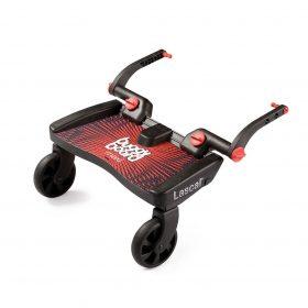Buggyboard Maxi rojo / asiento Saddle rojo
