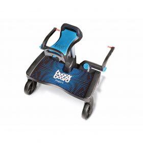 Buggyboard Maxi azul / asiento Saddle azul