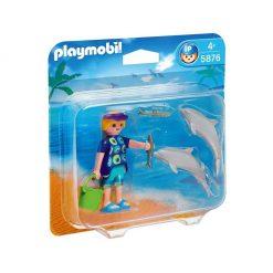 Entrenadora de delfines Playmobil