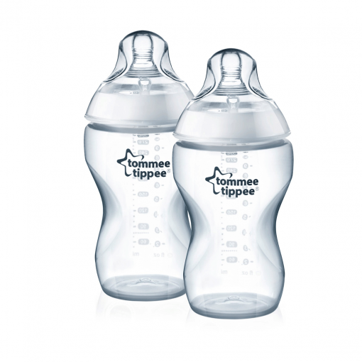 Pack 2x mamaderas anticólico 340ml. Tommee Tippee