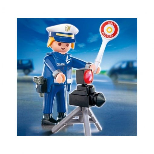policia de tránsito playmobil