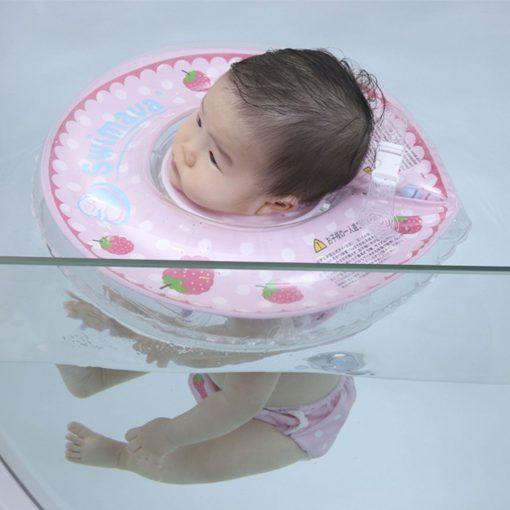 Aro flotador de cuello + pañal de agua Berry Swimava