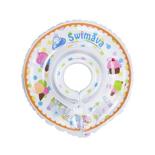 Aro flotador de cuello para bebés Swimava