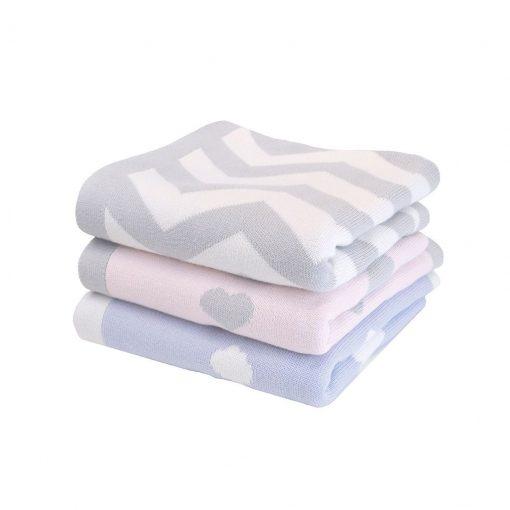 Manta de algodón tejido Shnuggle
