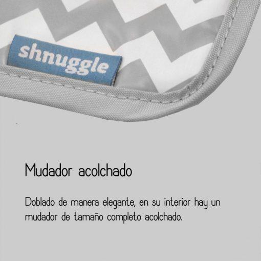 Mudador portátil BumGo. Shnuggle