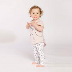 """Set polera + calzas de """"unicornio"""" Little Foot. Ropa para bebés con estilo"""