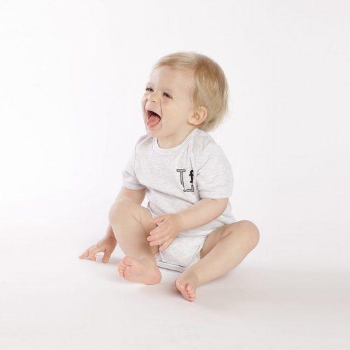 Set dos bodys Little Foot. Ropa para bebés con estilo