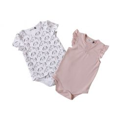 "Set dos bodys ""unicornio"". Little Foot. Ropa para bebés con estilo"