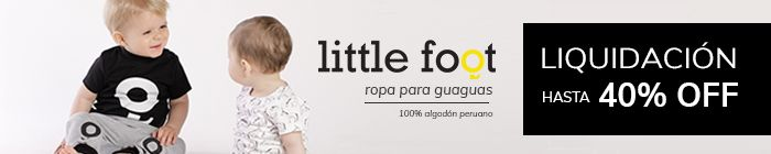 Oferta Little Foot