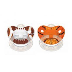 Dos chupetes diseño sports ortodóntico Etapa 1 NUK