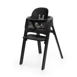 Pack silla steps negro/roble negro Stokke