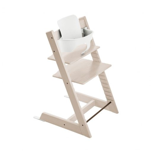 Pack silla tripp trapp white wash Stokke