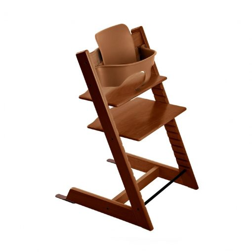 Pack silla tripp trapp walnut brown