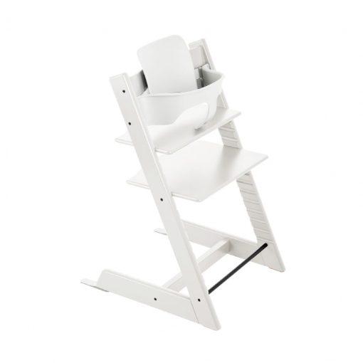 Pack silla tripp trapp trona blanca de Stokke