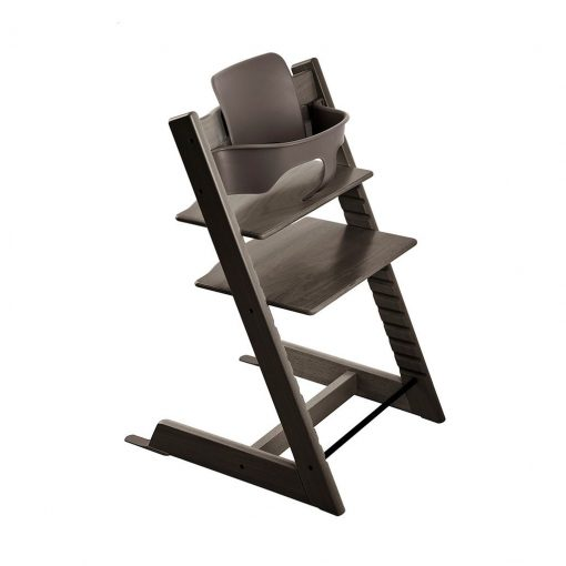 Pack silla tripp trapp roble gris Stokke
