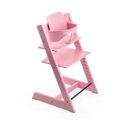 Pack silla tripp trapp rosado heather Stokke