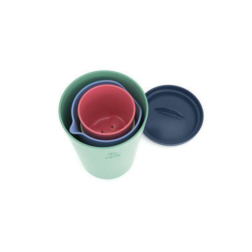 Vasos de juguetes multicolor flexi bath Stokke