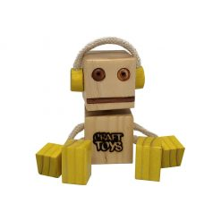 WoodFriend Dj amarillo Craft Toys