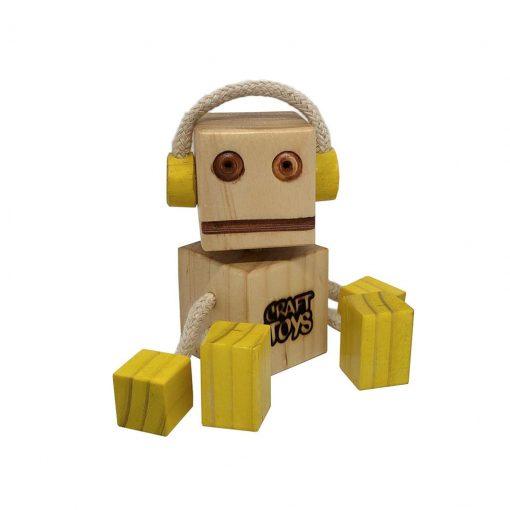 WoodFriend Dj amarillo Craft Toys