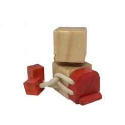 WoodFriend explorador Rojo Craft Toys