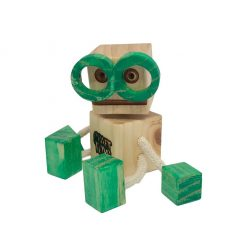 WoodFriend intelectual verde Craft Toys