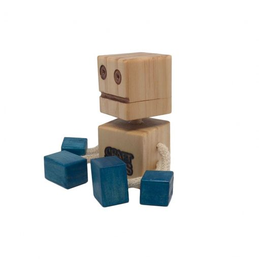 WoodFriend original azul Craft Toys