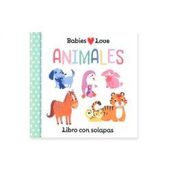 Libro infantil Babies love - animales