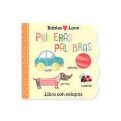 Libro infantil Babies love - primeras palabras