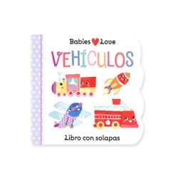 Libro infantil Babies love - vehículos