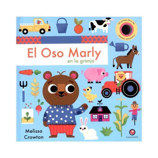 Libro infantil Cuentos interactivos - oso Marly y la granja