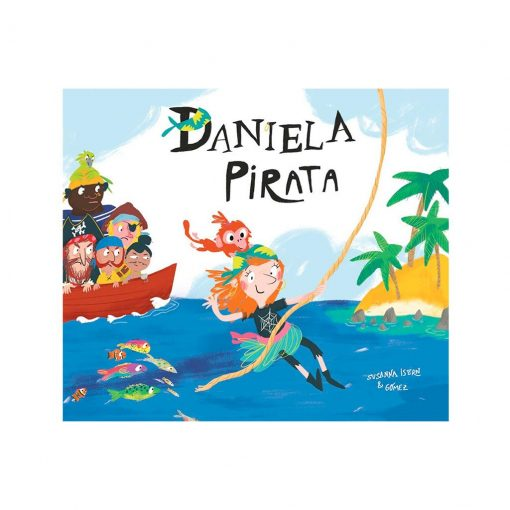 Libro infantil Daniela pirata