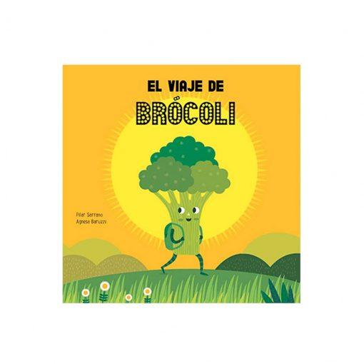 Libro infantil El viaje del brócoli