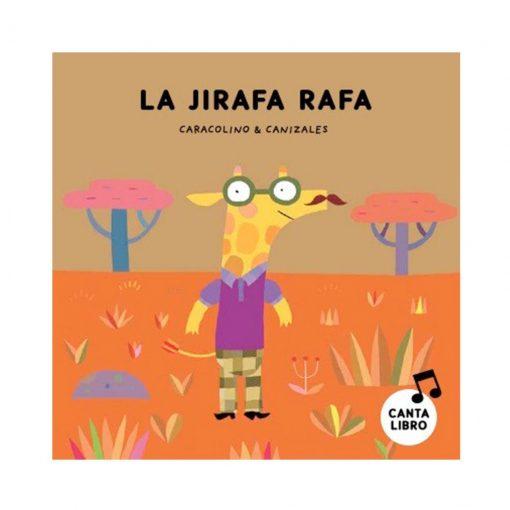 Libro infantil Lee y canta con caracolino! - jirafa Rafa