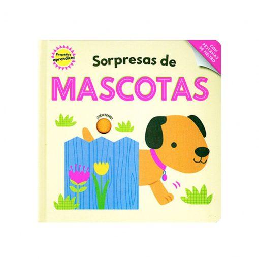 Libro infantil Pequeños aprendices - sorpresas de mascotas