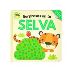 Libro infantil Pequeños aprendices - sorpresas en la selva